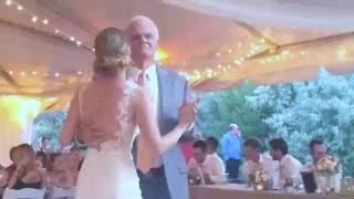 Daddy Daughter Dance Kauffman Redding Wedding