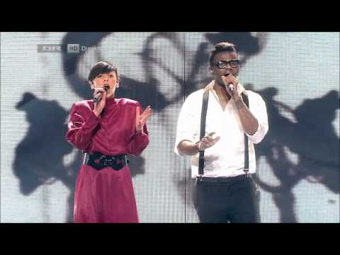 [HD][DK X Factor 2012] Nicoline Simone & Jean Michel - Somersault (I Got You On Tape)- Liveshow 2
