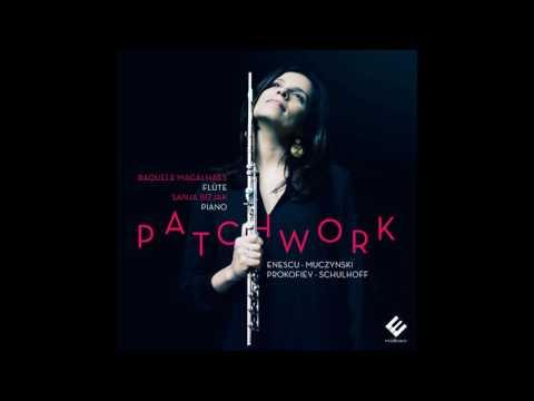 Prokofiev: Flute & Piano Sonata Op. 94 (moderato) | Raquele Magalhaes, Sanja Bizjak