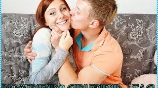 ♥ТЭГ: Парень и Девушка / Boyfriend&Girlfriend TAG ♥