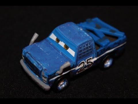 Mattel Disney Cars 3 Broadside Demolition Derby Contender Blue