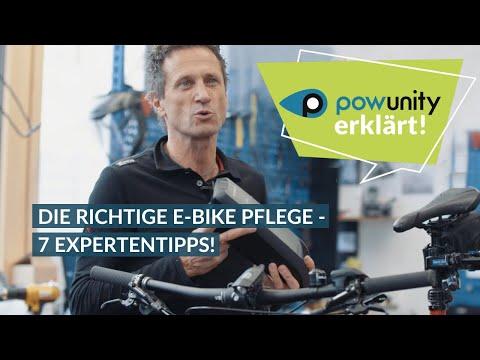 E-Bike Pflege und Wartung - 7 Experten Tipps!