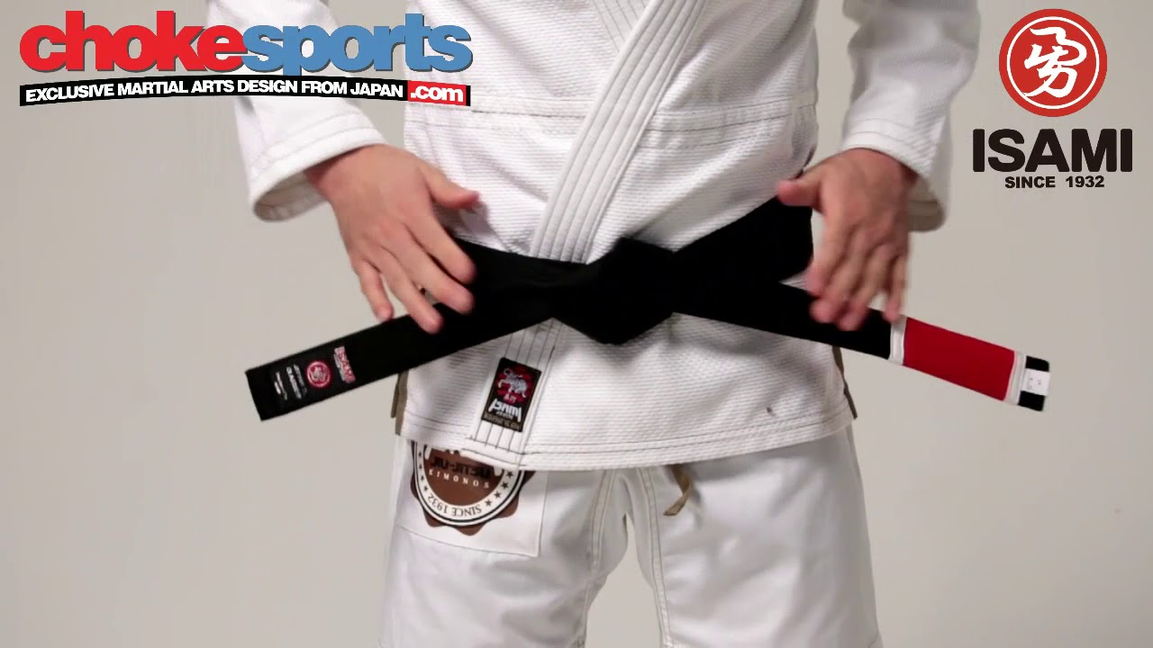 Isami BJJ Black Belt Basic from ChokeSports com