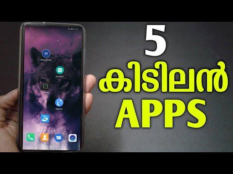 Top 5 Android Apps Malayalam 2019 May