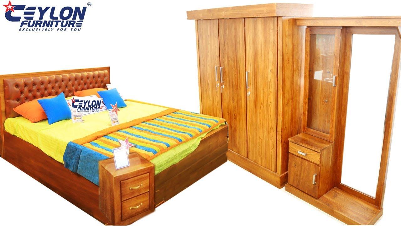 Bedroom Furniture- Sri Lankan Modern Furniture from Teak Wood- Teak Bedroom  Suites -CEYLON FURNITURE