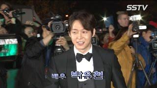 [SSTV] '대종상영화제' 박유천-김우빈-이정재 등 훈남 등장에 '女心 심쿵'