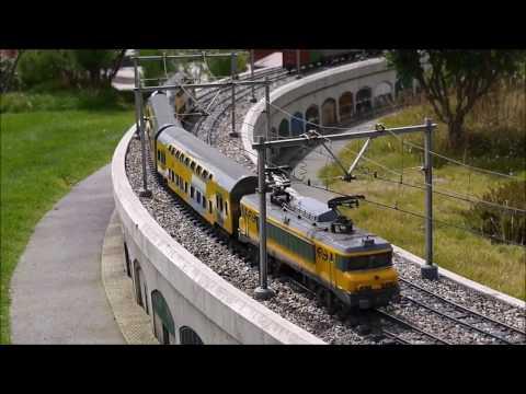 Treinen in Madurodam