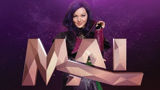 Meet The Villain Kids: Mal | Dove Cameron | Disney Descendants