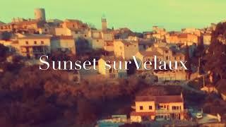 Sunset sur Velaux