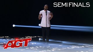 Brandon Leake Will Make You EMOTIONAL With His Spoken Word - America's Got Talent 2020