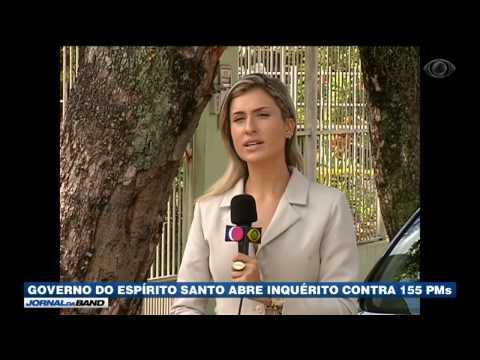 ES: Governo abre inquérito contra 155 policiais