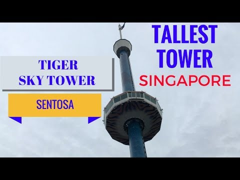 Sentosa Sky Tower   Tiger Sky Tower In Sentosa Singapore