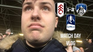 Fulham 1-2 Oldham- FA Cup Embarrassment: Match Day Vlog