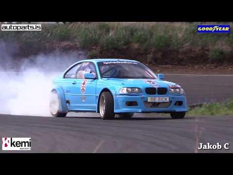 Drift Iceland 2017! 1.round - Birgir Sigurðsson - BMW Be Sick Racing