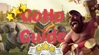 TH8 ATTACK STRATEGY || GoHO ATTACK STRATEGY/GUIDE || (HINDI) || CLASH OF CLANS || TH8 WAR STRATEGY