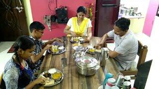 Indian Mom Dinner Routine, Chawal ki Kheer, Karela Fry, Dal Fry, Phulka Roti, Night Kitchen Cleaning