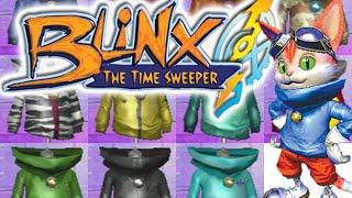 BLiNX: The Time Sweeper - All Outfits