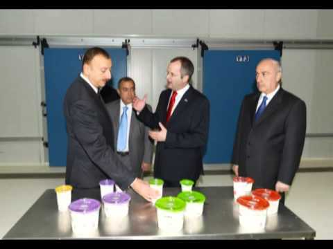 Ilham Aliyev attended the opening of plants operating within the AzFP  Co Ltd LLC