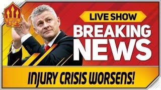 Solskjaer's Man Utd Injuries Nightmare! Man Utd News Now