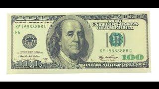 Кошелек 100 Dollars за 1 доллар обзор