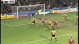 2001 (January 10) Crystal Palace 2 -Liverpool 1 (English League Cup)- Semifinals, first leg
