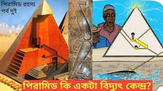 পিরামিড কি একটা বিদ্যুৎ কেন্দ্র? Is Pyramid is a Wirless Power Plant, Made by Alians?How Tesla Know?