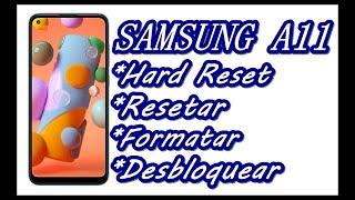Dr.Celular - Samsung A11 - Hard Reset - Resetar - Formatar - Desbloquear
