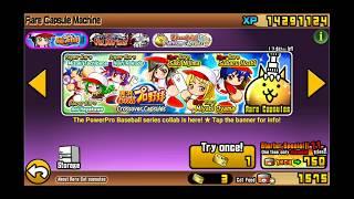 The Battle Cats! PowerPro Baseball Series Collab!