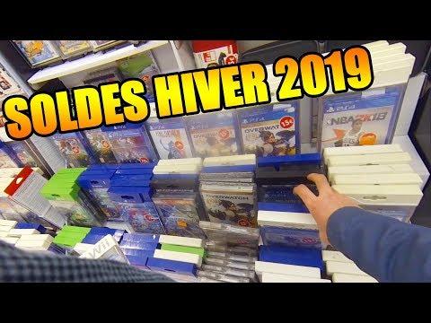 SOLDES JEUX VIDEO HIVER 2019 EN LIVE + COMPTE RENDU !