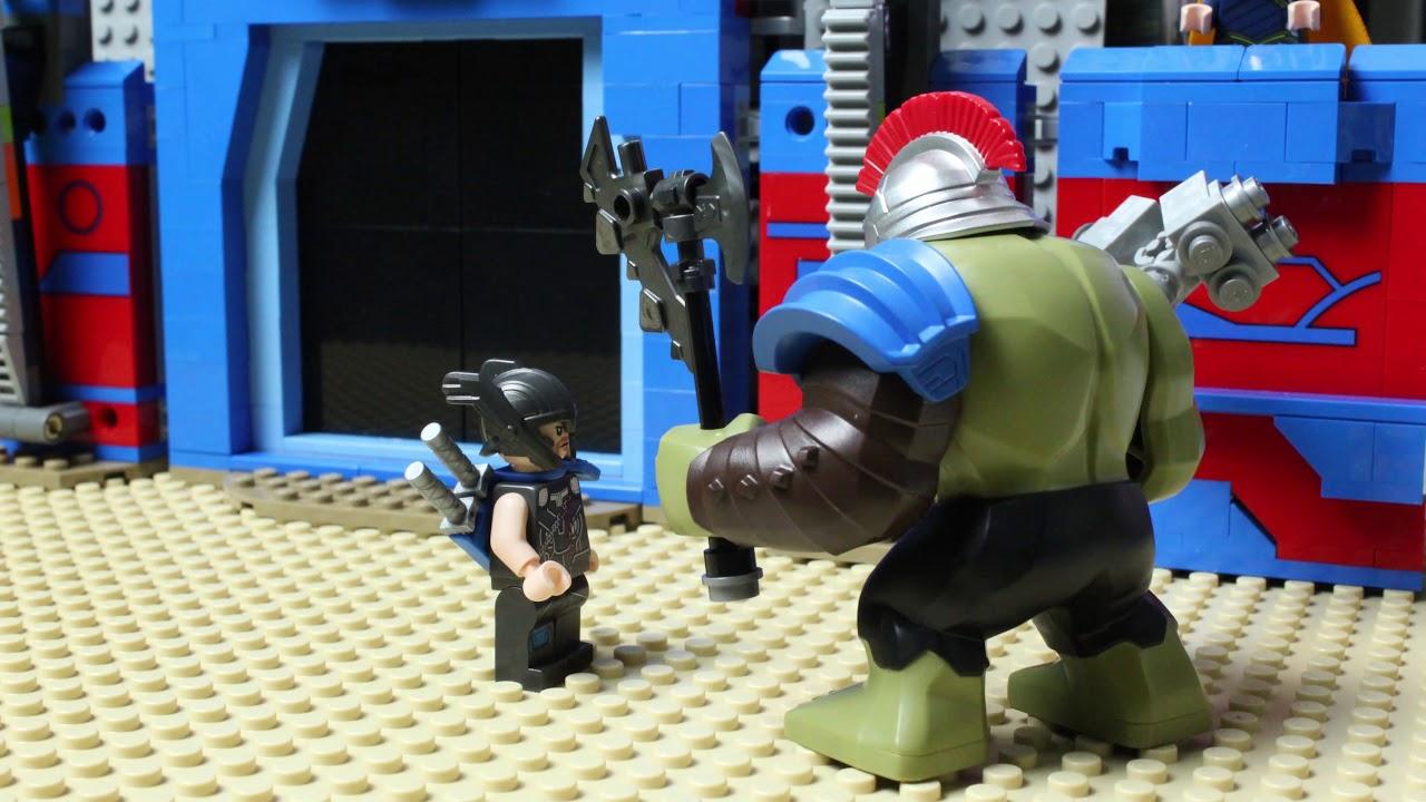 LEGO Hulk VS Thor