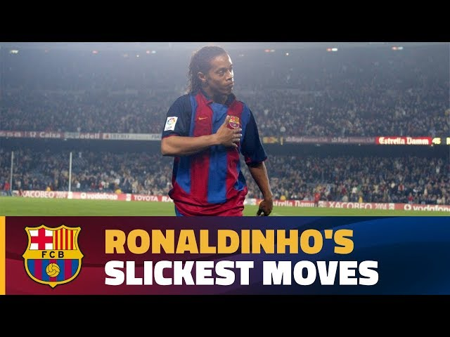 Ronaldinho's most jaw-dropping plays with Barça