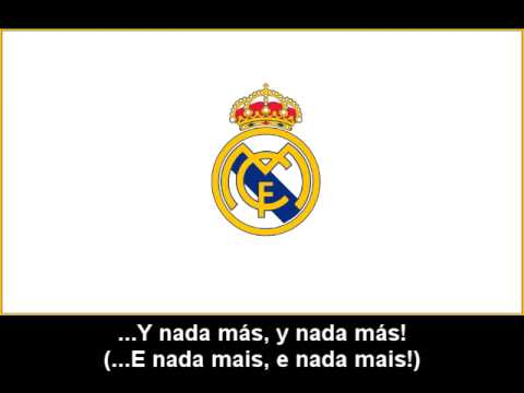 Hino Oficial Do Real Madrid C.F. - Hinos de Futebol - LETRAS.MUS.BR 45c3b6cd2203d