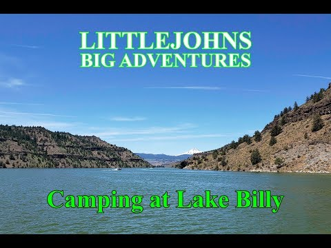We Go Camping At Lake Billy Chinook And Rent A Pontoon Boat
