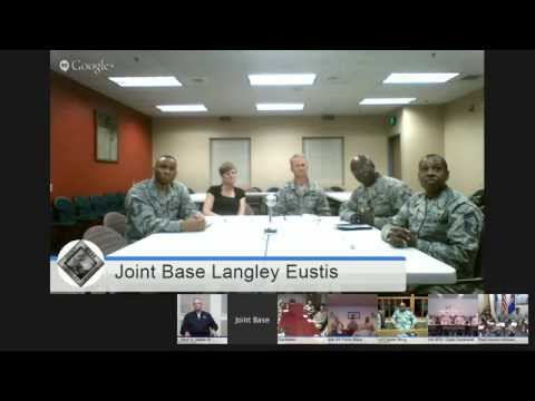 Virtual Townhall with Gen. and Mrs. Welsh