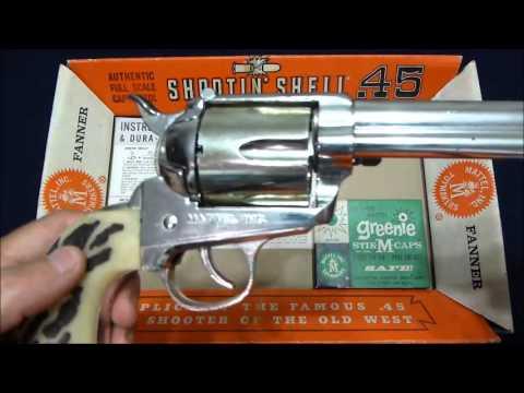 Mattel Shootin Shell 45