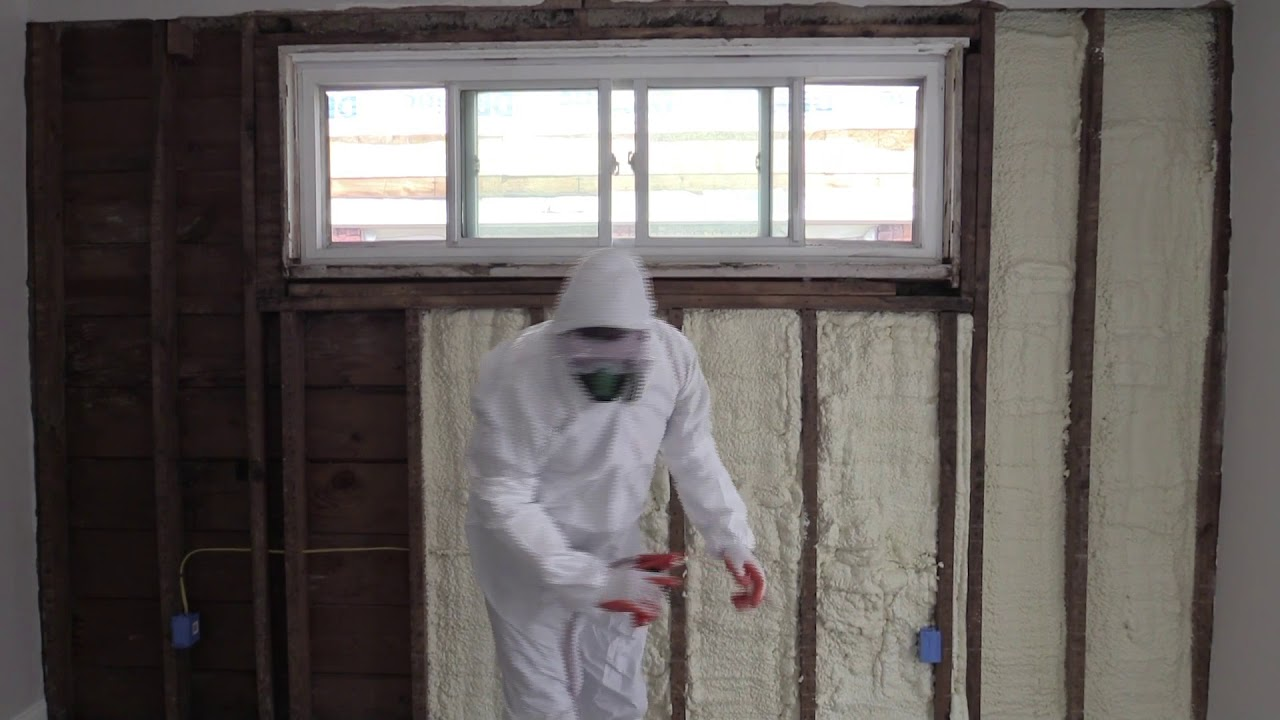 Download Open Walls - How To Apply Spray Foam Insulation