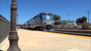 Amtrak Coast Starlight with 3 PV