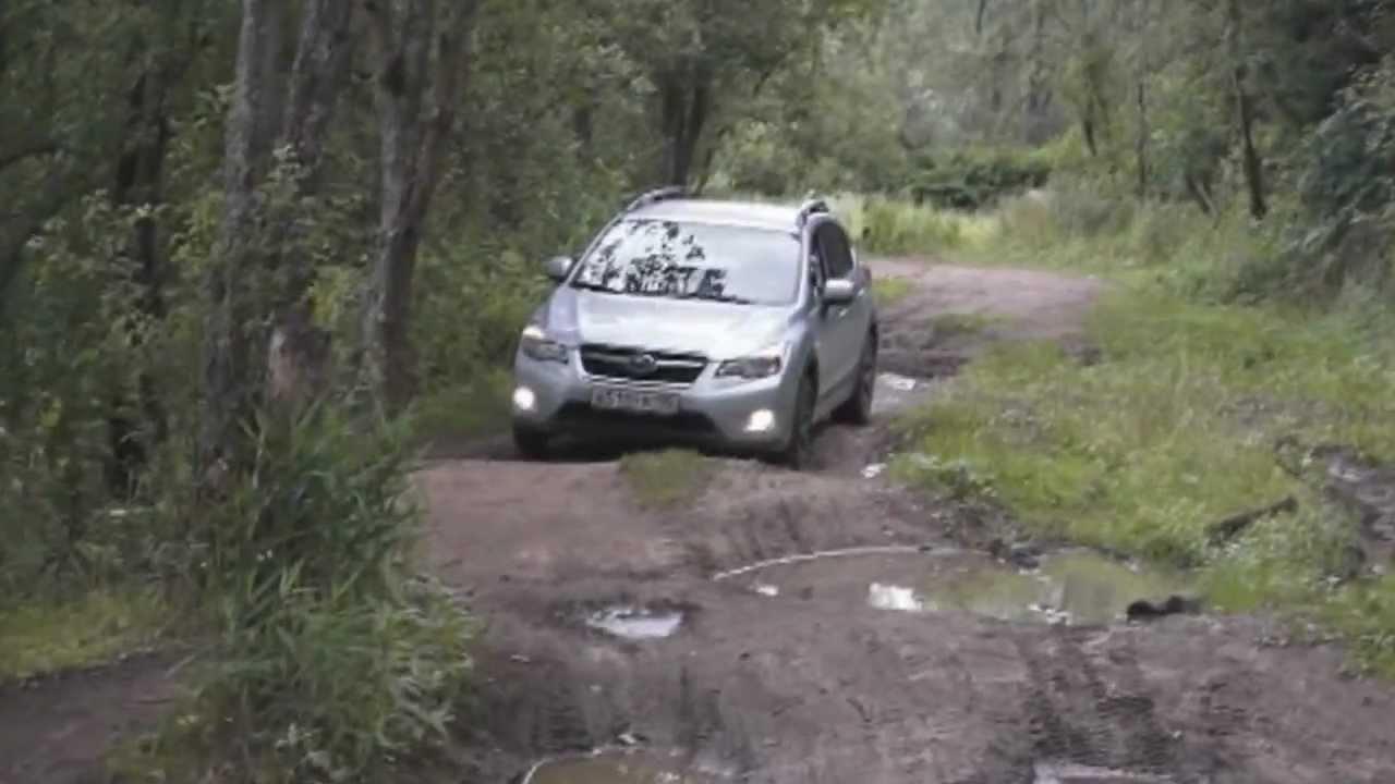 Subaru Crosstrek Offroad >> Subaru XV off road - YouTube