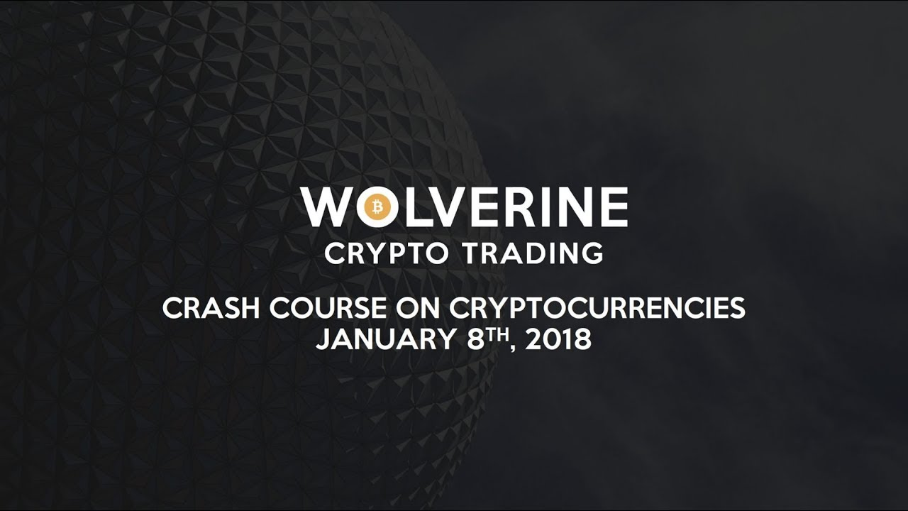 crash course in cryptocurrency