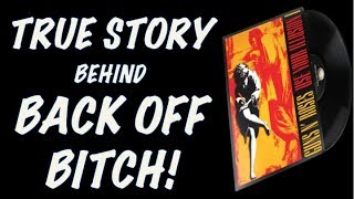 Guns N' Roses Documentary: The True Story Behind Back Off Bitch! (Use Your Illusion 1), Axl Sued! mp3