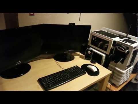 TheHacker0007's Desk Tour - 2013- Dual Monitors-Cu