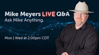 Mike Meyers LIVE Q & A MΟN Sept 28 2:00 pm CDT
