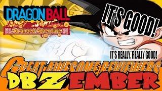 DBZember: The Best Dragon Ball Game EVER! [Dragon Ball: Advanced Adventure Review]