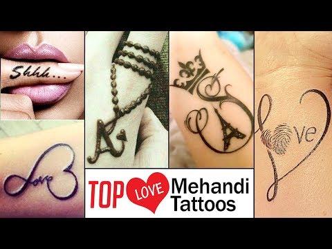 TOP Black Mehandi Tattoo Designs For Mehandi Lovers | 2018 Try It | Fashion City