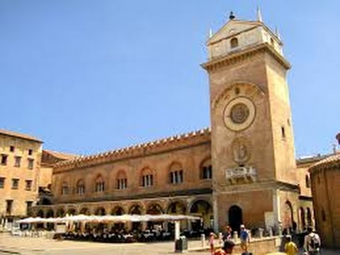 Mantova - Palazzo della Ragione e Torre dell`Orologio