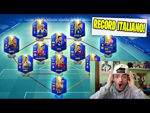 HO FATTO IL RECORD ITALIANO DI TOTS !!! FUT DRAFT TOTS CHALLENGE - FIFA 19 ULTIMATE TEAM ITA