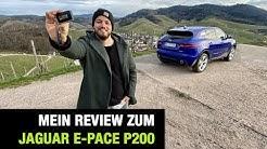 """2020 Jaguar E-Pace P200 AWD """"R-Dynamic S"""" (200 PS) 🇬🇧 Fahrbericht   FULL Review   Test-Drive   POV"""