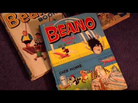 Huge Beano Annual Book Collection