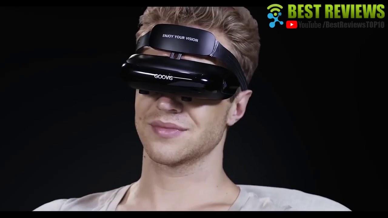 "13c221f374e GOOVIS Virtual Reality Travel 3D Theater VR Glasses 800"" HD Giant Screen  Advanced HD 4K Sony OLED Mi"