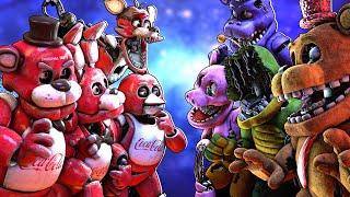 [SFM FNaF] Withered Melodies vs Coca Cola Animatronics